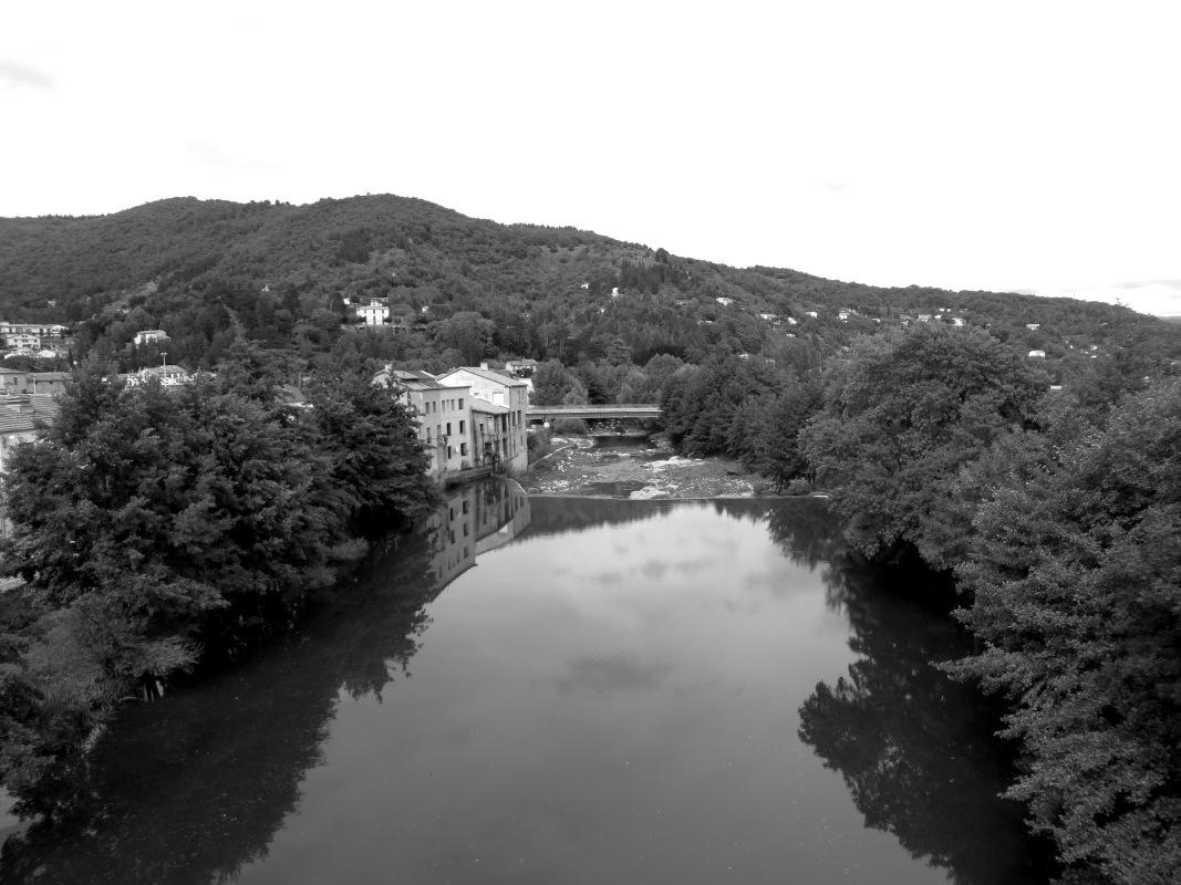 The River Arre, Le Vigan