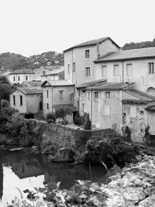 The River Alzon, Le Vigan