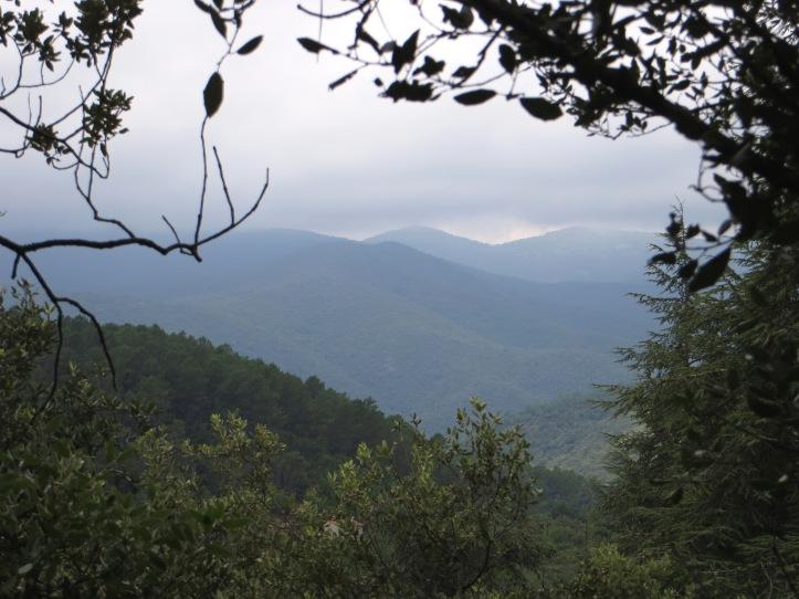 The hills around LaSalle