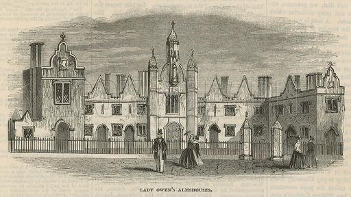 Lady Owen's almshouses in Islington (Look & Learn Website)