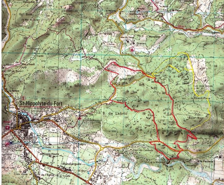 Carte de Randonnee, 2741 ET