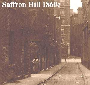 Saffron Hill, 1860