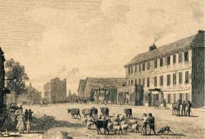 The Angel Inn, 1818