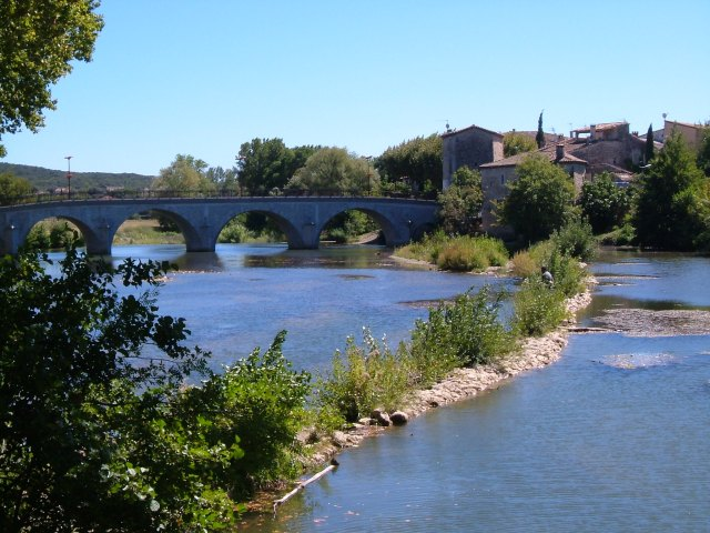 The Vidourle at Quissac
