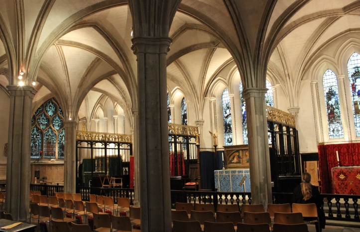 The retrochoir, Southwark Cathedral