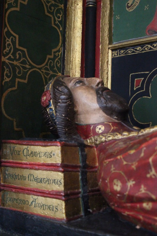The tomb of John Gower