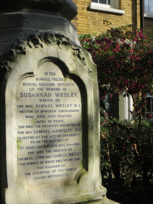 John Wesley's mother