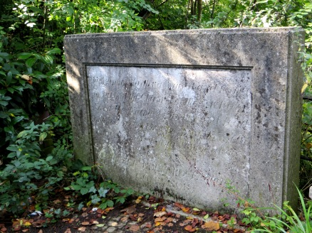 Information Stone about the Clarendon Arch