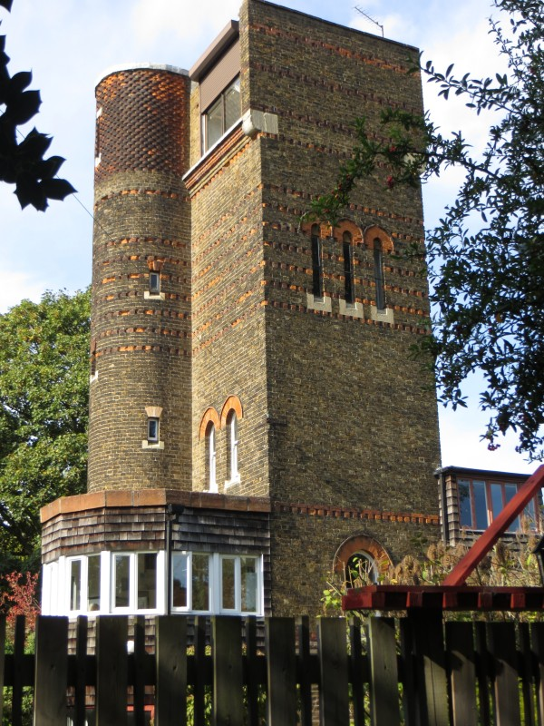 The Water Tower in Quaker's Walk