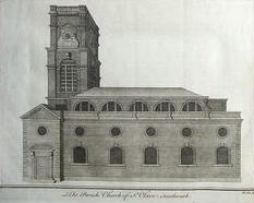 St Olave's, Southwark, 1756 (Wikipedia)