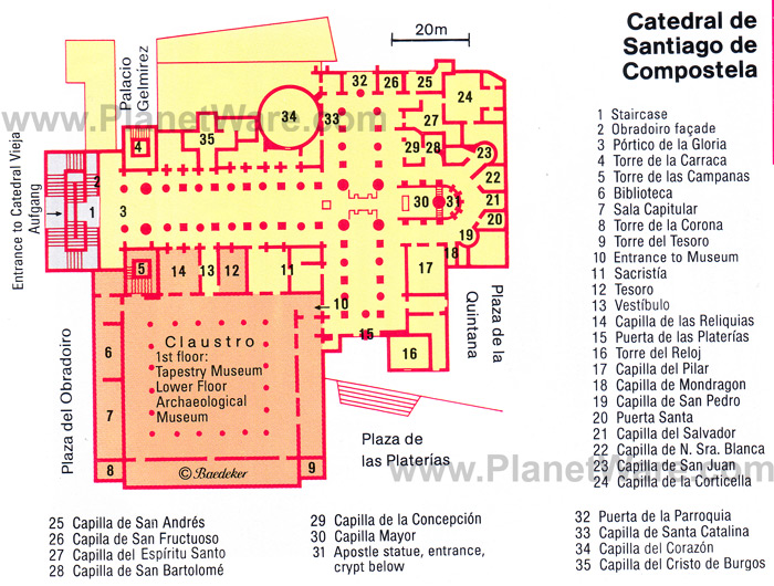 Ground plan of Cathedral