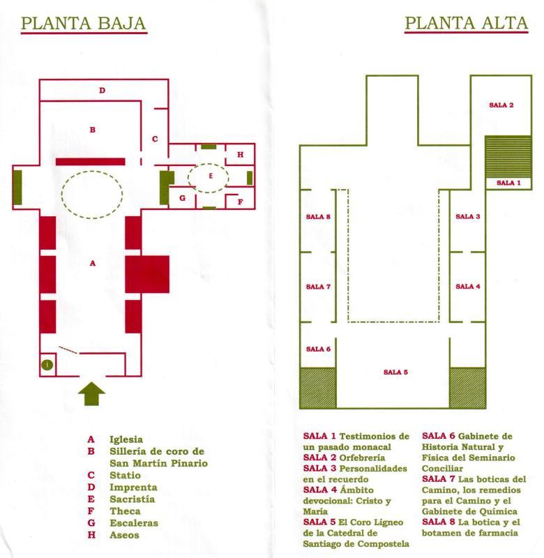 Church of San Martin, plan 001