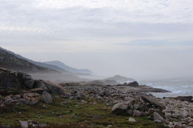 The Galician coastline