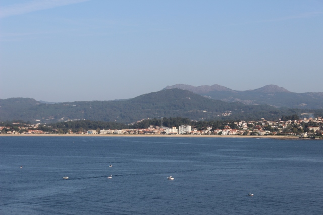 The bay of Baiona