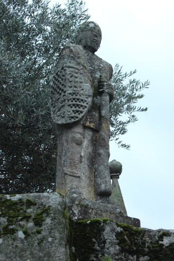 Balboa protecting the Church of San Benito
