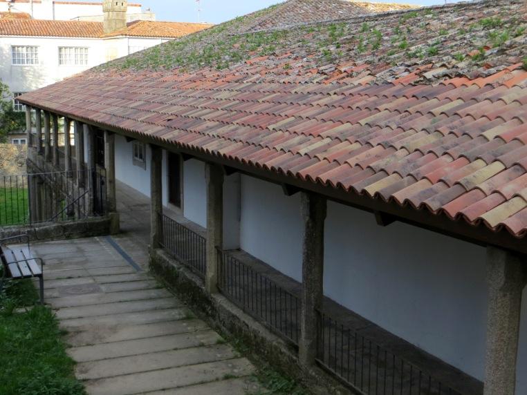 Sancti Spiritus Hospital (rear of the building)