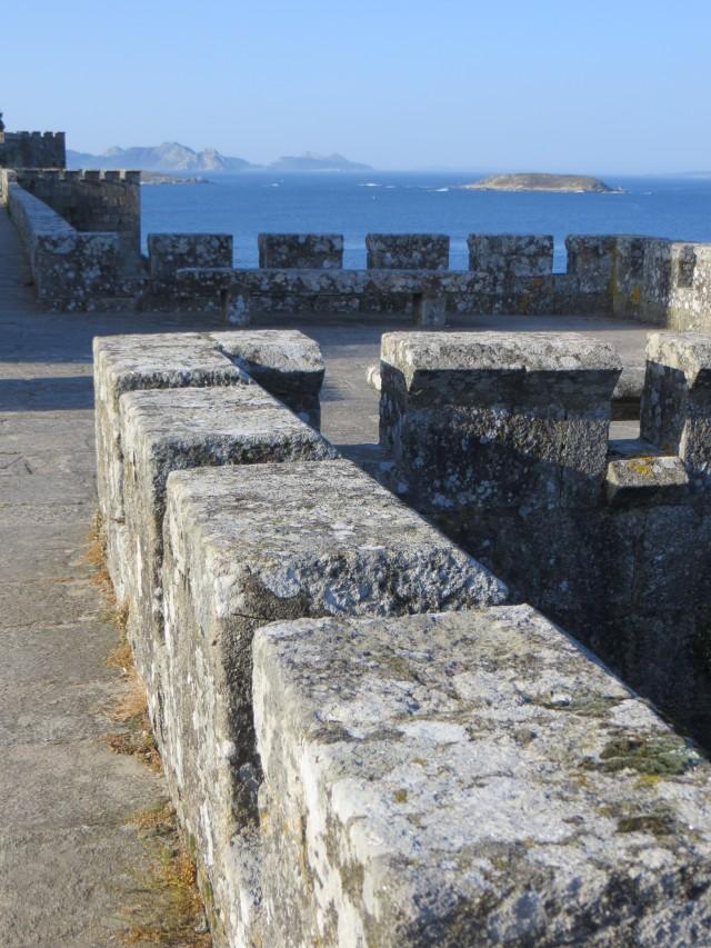 The battlements