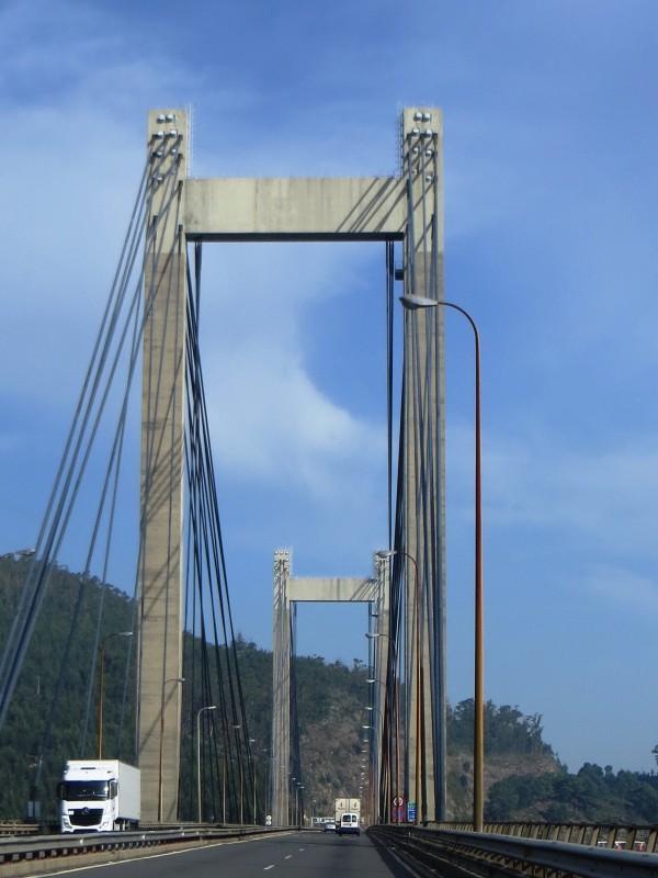 Bridge over the Ria de Vigo