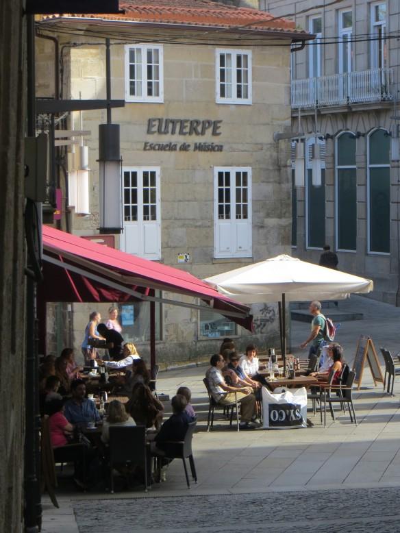 A square in Pontevedra
