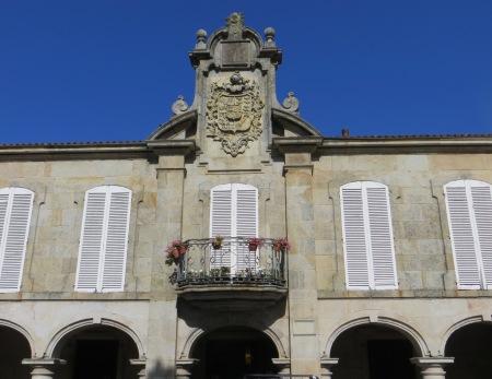 Mugartegui Mansion in the Pedreira Square, 17C-18C