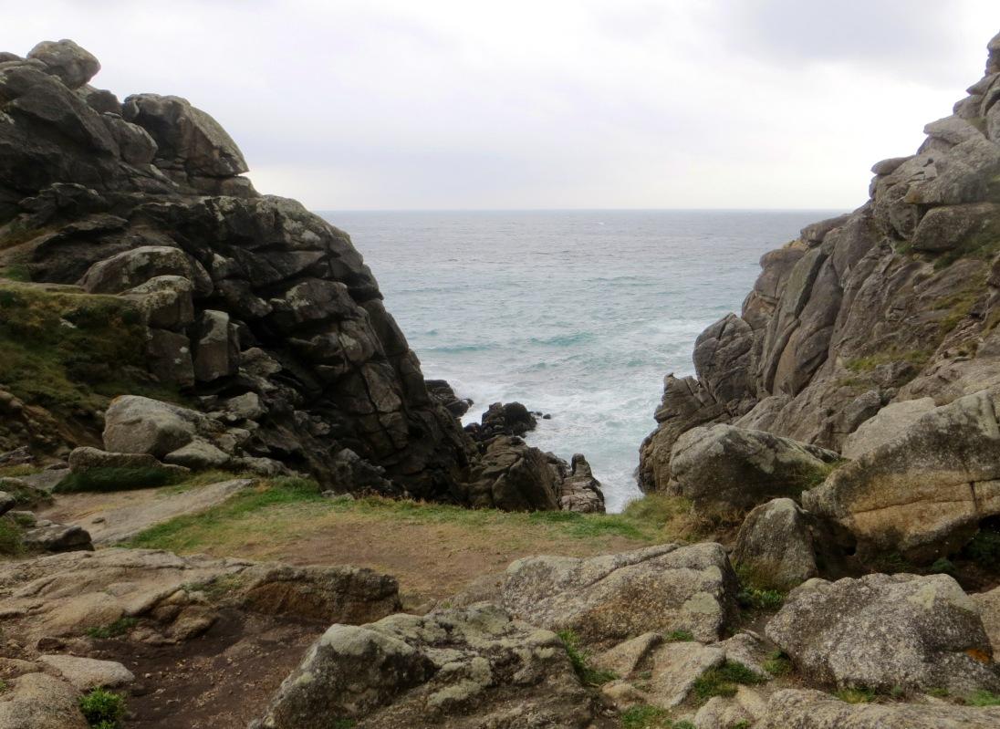 Castro de Barona looking out to sea