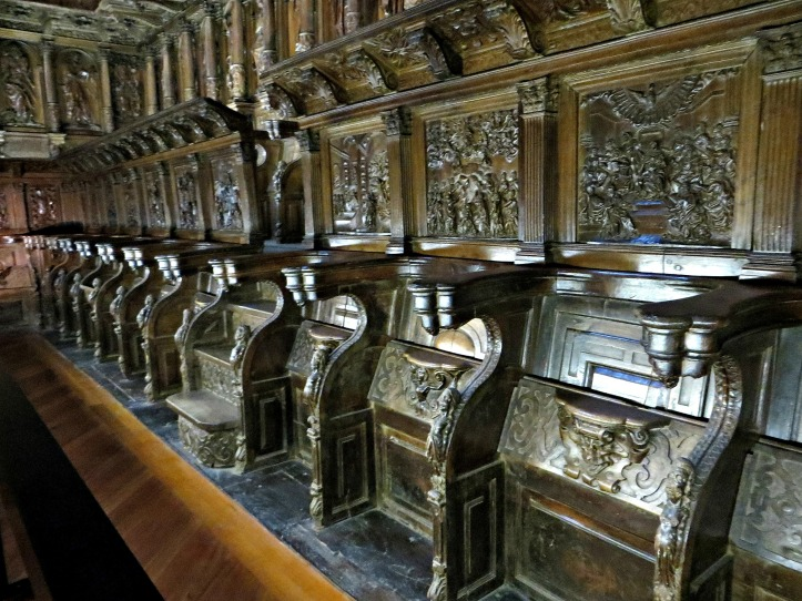 The Choir Stalls, San Martin Pinario