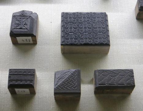 Wood block prints, San Martin Pinario
