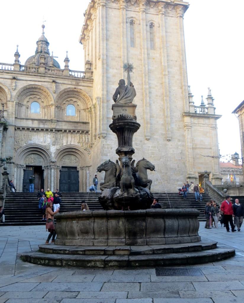 The Cathedral Square, Santiago de Compostela