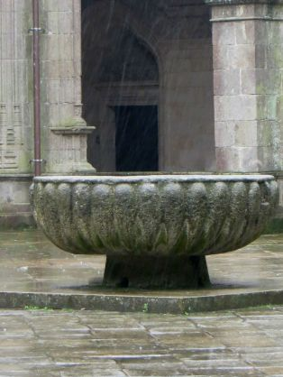 The Cathedral Cloister, Santiago