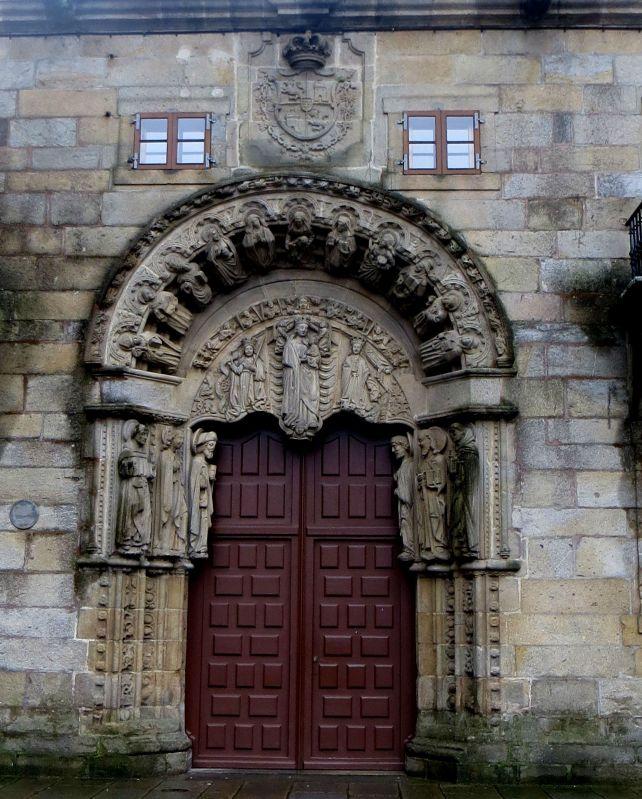 Doorway of College of St Jerome
