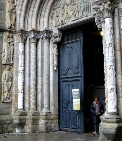 North Door, Santiago Cathedral