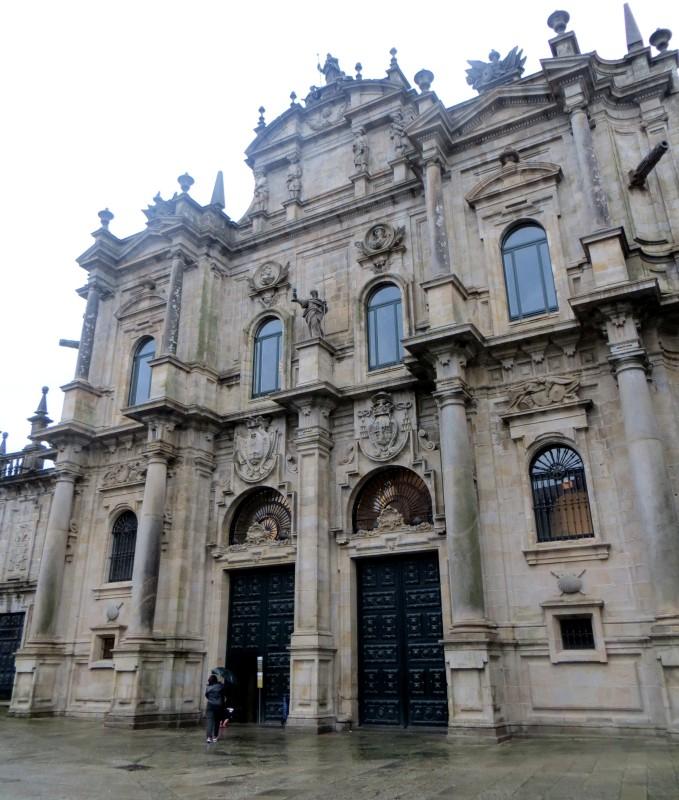 The Azabacheria Door of Santiago Cathedral