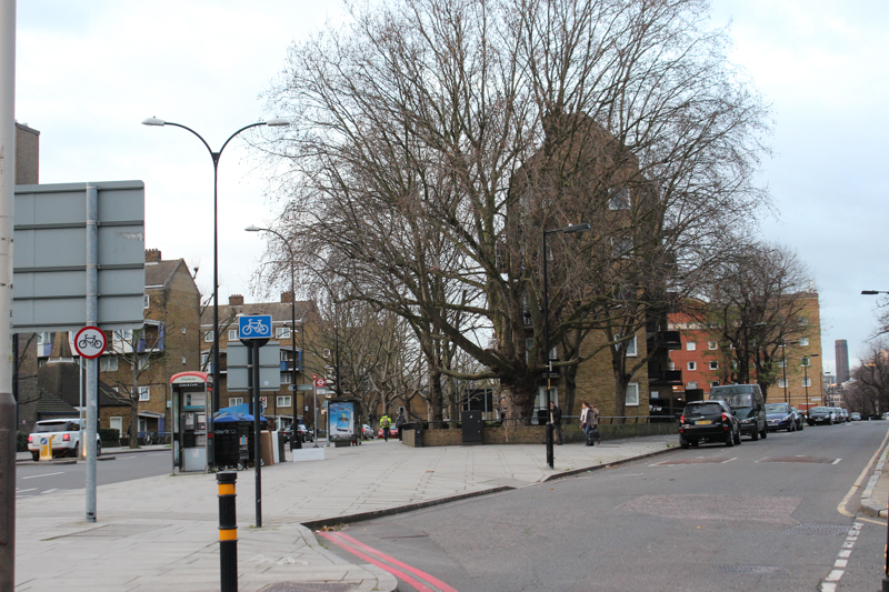 The junction of Tabard Street and Great Dover Street