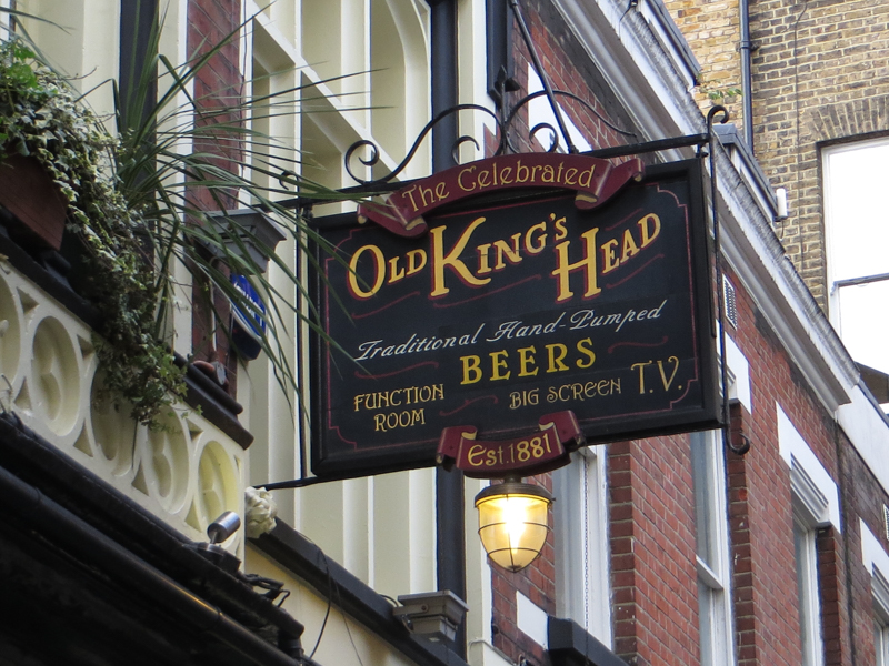 The King's Head, Borough High Street