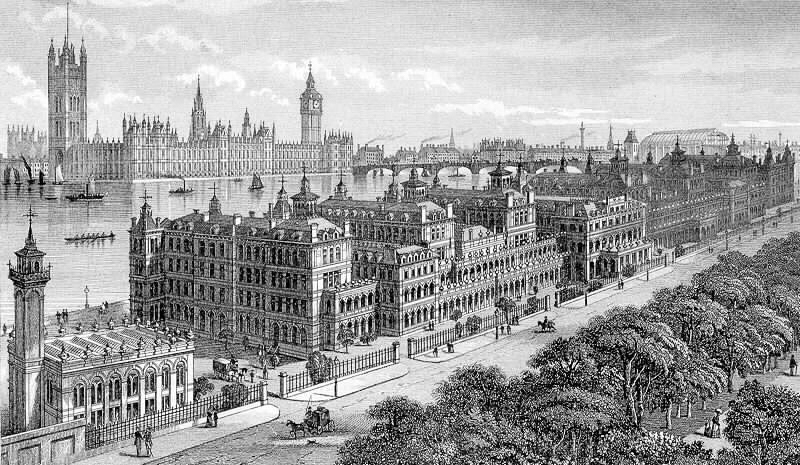 St Thomas' Hospital, after 1862