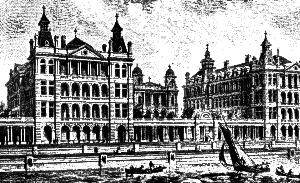 St Thomas Hospital, 1850