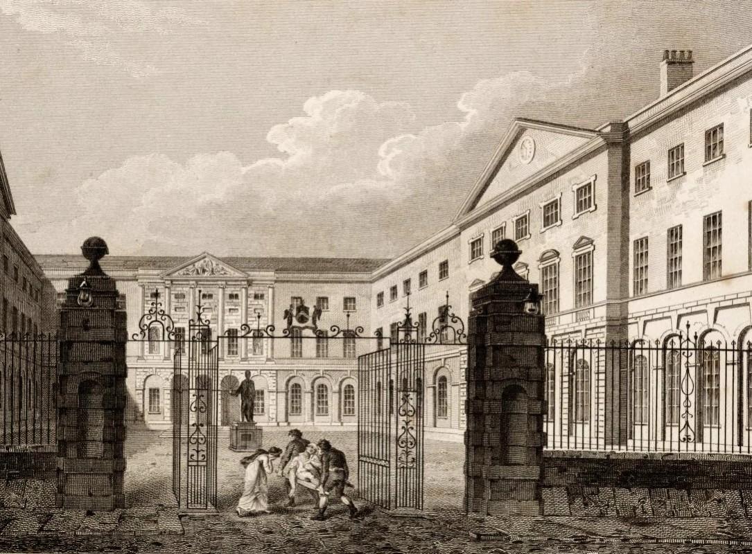 Guy's Hospital, 1840 (Wikipedia)