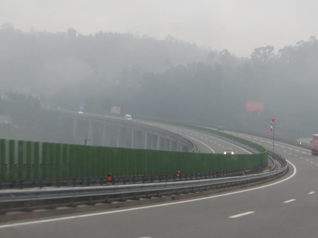 The motorway to Porto