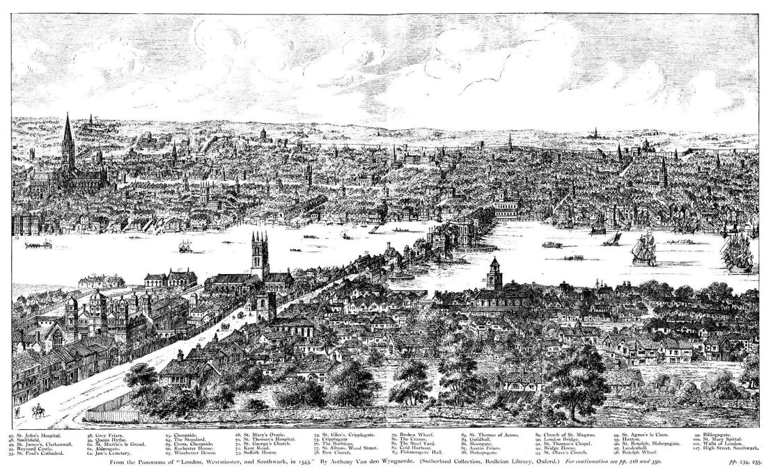 Panorama_of_London_in_1543_Wyngaerde_Section_2