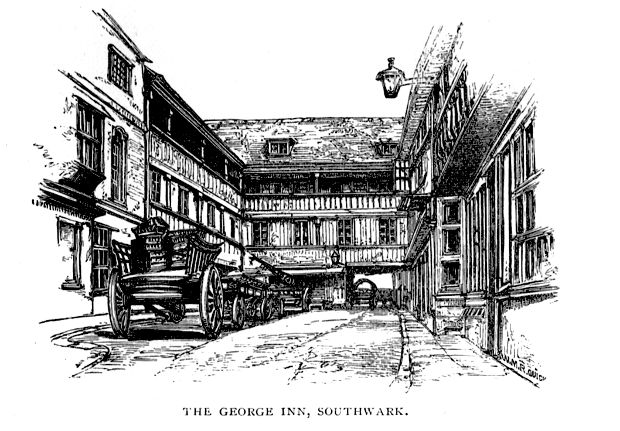 The George Inn, 1896 (boakandbailey.com)