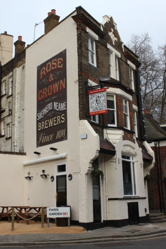 The Rose and Crown, Paris Garden
