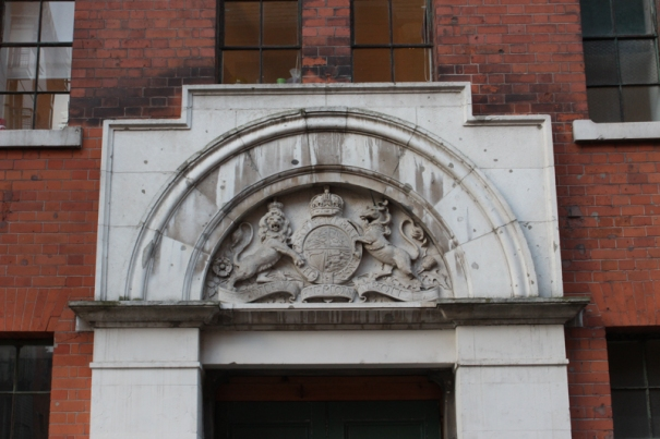 Coat of Arms in Barge House Street