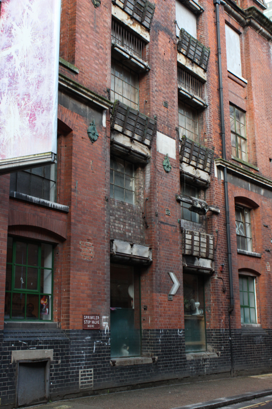 Warehouse in Barge House Street