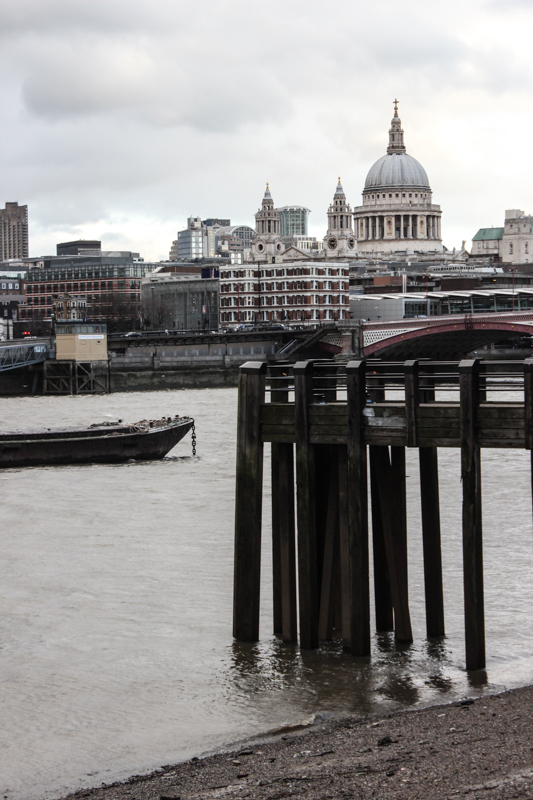 Bankside, looking towards the City