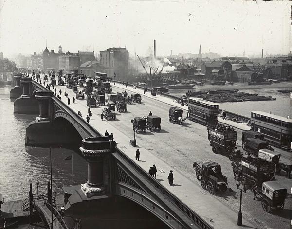 Blackfriars Bridge c.1910 (www.spitalfieldslife.com)