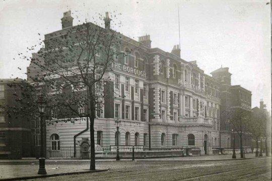 Borough Polytechnic, 1890? (www.archiveshub.ac.uk)