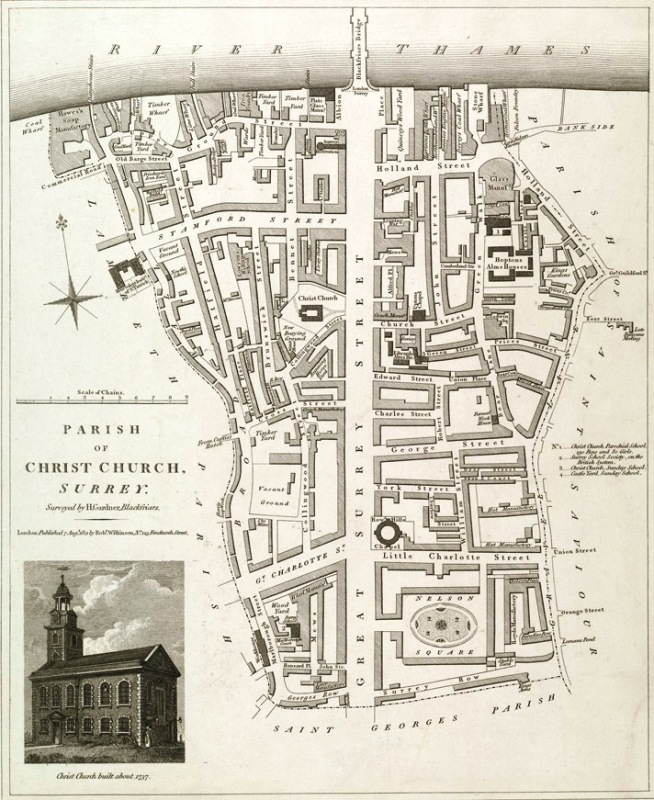 Christ Church Parish, 1737 (www.bl.uk)