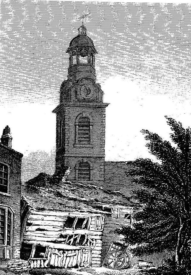 Christ Church, Southwark, 1815 (Wikipedia)
