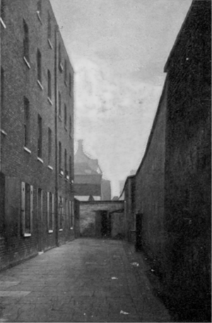 The Courtyard of the 2nd Marshalsea Prison, 1897 (Wikipedia)