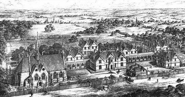 Magdalen Hospital in Streatham (www.archiseek.com)